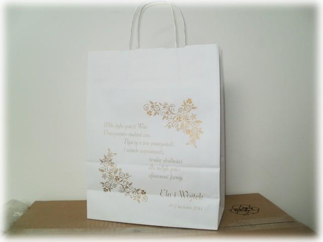 torby ślubne, torby weselne