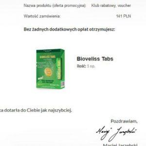 Bioveliss Tabs opinie