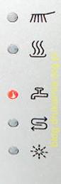 kontrolki zmywarki bosch